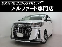 トヨタ アルファード 2.5 S Cパッケージ 新車モデリスタサンル-フ Dミラ- フリップD