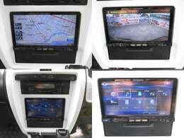 カロッツェリア製ナビ ミュージックサーバー搭載 バックカメラも装着されていますので駐車の際も安心です。