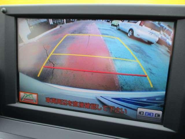 縦列駐車やバックが苦手な方にも安心のバックモニターがついてます♪ベテランの方もついていると安心の装備ですね!!