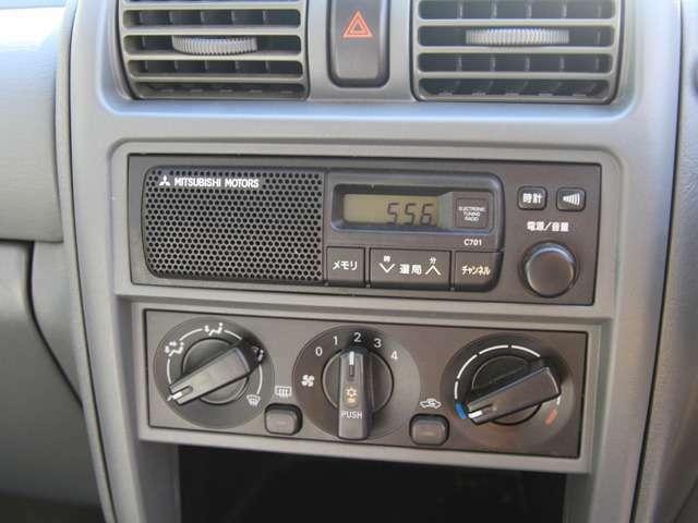 AMラジオは各ボタンに日本語が割り当てられていますので、操作しやすいです