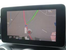 ●メルセデス・ベンツ純正ナビ+フルセグTV:高級感のある車内を演出させるナビです!