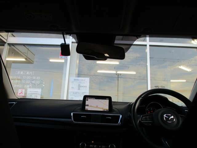 安全な運転は集中できる環境から・・・。運転を楽しみながら、様々な情報を逃さないコックピット!