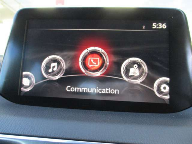 【マツダコネクトディスプレイ】 タッチパネル操作で、入力や操作も便利ですね!お出かけには外せないアイテムです♪