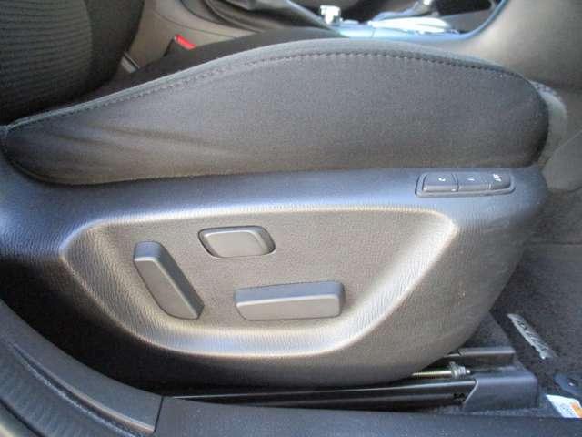 運転席は、電動シート付です!