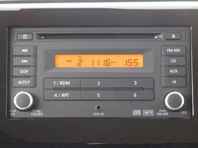 三菱純正CD一体型AM/FM電子チューナーラジオです。
