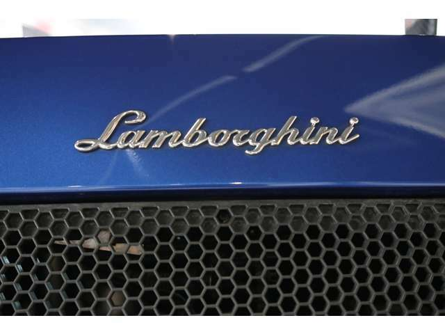 Lamborghiniの伝統的なロゴです☆