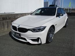 BMW M3セダン コンペティション M DCT ドライブロジック Mパフォステアリング レーダー ドラレコ