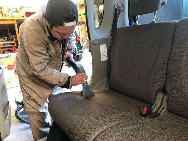 全車両の車内清掃・シートクリーニングも妥協を許さず必ず行っております!隅々までピカピカの状態であなたにお渡しいたします♪