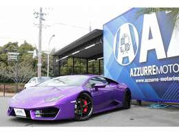 2018y ランボルギーニ ウラカン 正規ディーラー車 ハイパーフォージドホイール パワークラフト可変付マフラー Bカメラ レザーインテリア 入庫しました!