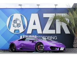 ランボルギーニ ウラカン 鍛造AW パワークラフトマフラー D車 カーボンクラッシュ内装 電動シート