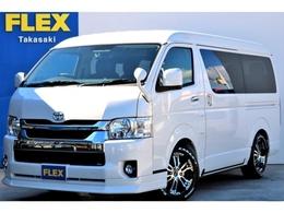 トヨタ ハイエース 2.7 GL ロング ミドルルーフ 4WD ツイン地デジナビ 内装架装 車中泊仕様