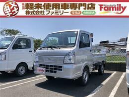 日産 NT100クリッパー 660 DX 4WD 届出済未使用車 4WD 3AT トラック