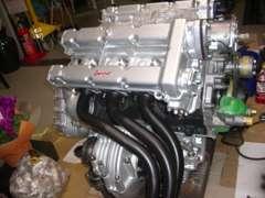 美しく仕上げられたDino のエンジン