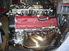F355のエンジン タイミングベルト交換 綺麗に仕上がっていますね