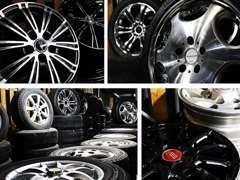 タイヤ、アルミホイールの販売を行っております。純正品からドレスアップ系など幅広い品揃えでお待ちしております。