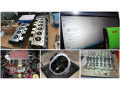 輸入車に関しては提携工場にて最新のBOSCH製コンピューター診断機も使用して点検・整備をしております。