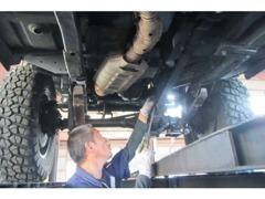 当社は四国運輸支局指定工場完備です。購入後もしっかりサポートさせていただきます。車検、修理、お任せください。