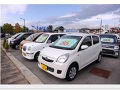 新車・中古車は各メーカー取り扱っています!店頭の在庫だけでなく、お客様のご要望を聞いて全国からお探しします!