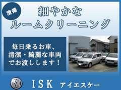 ■清掃■状態の良い車両を仕入れしているのはもちろんですが、その上細部までルームクリーニングを実施しています。