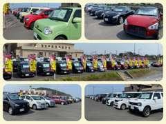 トヨタ・日産・ホンダ・スバル・三菱・スズキ・ダイハツどのメーカーのお車もお任せ下さい!輸入車をお探しの方もお気軽に!