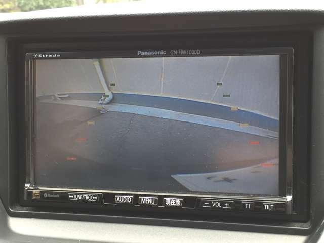 【バックカメラ】便利なバックカメラ付き!駐車が苦手な方にもオススメな便利装備ですね♪