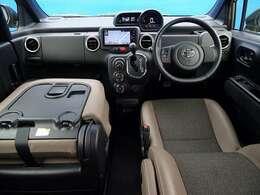 ◆専用ハーフレザーシート ◆ロングスライド助手席シート(シートバックテーブル) ◆A/C ◆ブラウンインテリア