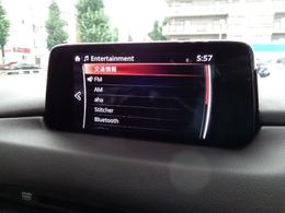 オーディオはAMFMラジオ、CD・DVD再生、そしてBluetoothオーディオにも対応しております。
