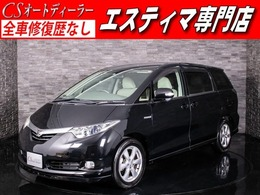 トヨタ エスティマハイブリッド 2.4 G 4WD パノラミックS 後席モニター 両自ドア