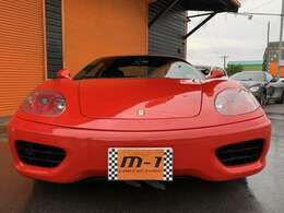 平成12年式(00y)フェラーリ360モデナ!正規ディーラー車!左ハンドル!純正6速マニュアル車!MSレーシング可変マフラー付!ネロレザーインテリア!