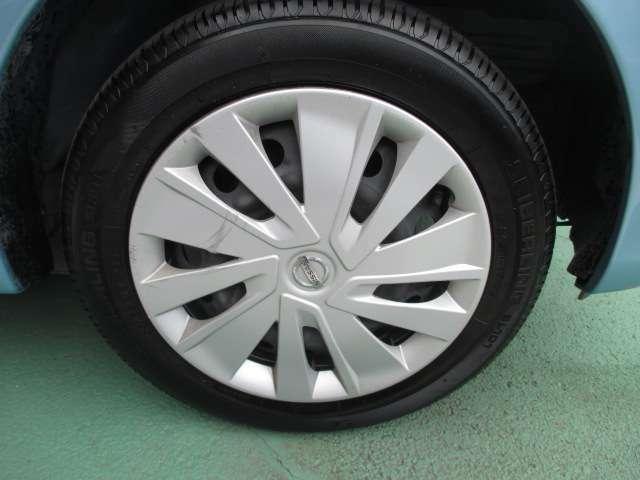 タイヤも溝も十分