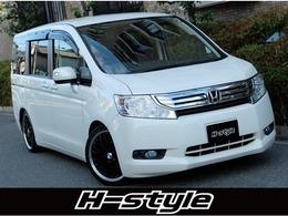 ホンダ ステップワゴン 2.0 G HIDエディション 車高調/アルミ/両側電動/ナビ/リアモニター