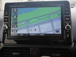 DVDビデオの再生機能やフルセグTVが搭載されている多機能なナビゲーション☆