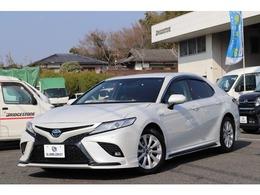 トヨタ カムリ 2.5 WS TRDエアロ セーフティセンス 9型ナビ