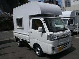 ダイハツ ハイゼットトラック 660 エクストラ 3方開 4WD 軽トラ キャンピング トリパル 車中泊