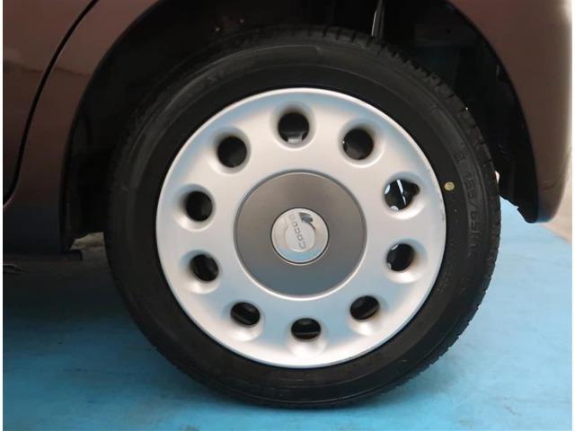 【タイヤ・ホイール】155/65R14サイズの純正ホイールです。タイヤ溝は約6mmになります。