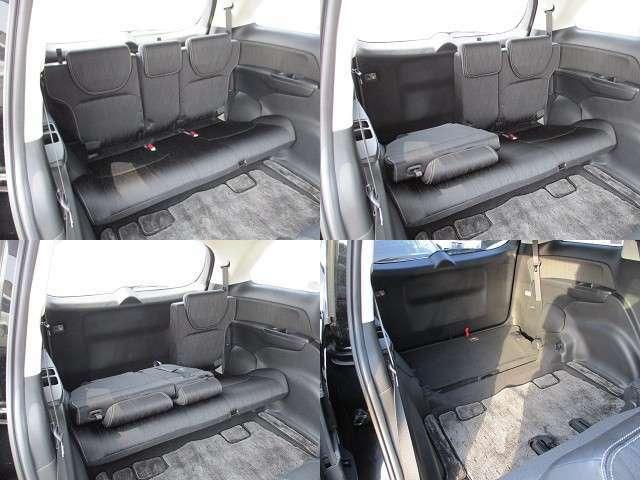 サードシート☆床下に格納も出来き大容量のラゲッジスペースにもすることが出来ます♪