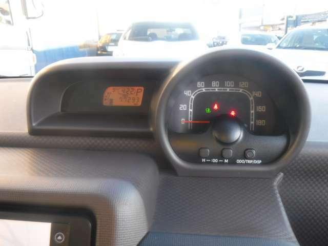 視認性に優れるメーターパネルです♪車両の様々な情報を集約し、ドライバーに知らせてくれます♪