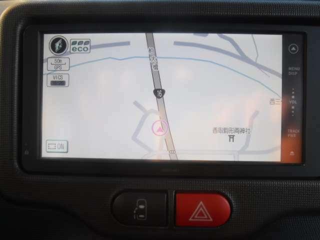 初めての場所でも安心ドライブ!ナビゲーションシステム搭載!
