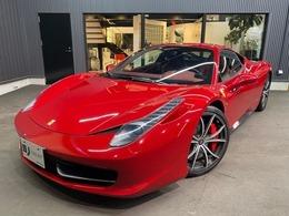 フェラーリ 458イタリア F1 DCT 正規D車パワークラフトLEDステアFリフト