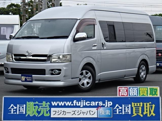☆H18 ハイエース 2.7 4WD リンエイ バカンチェス 入庫いたしました☆