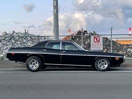 MOPAR!!1973・ダッジ・コロネット・4ドアセダン・318・ベンコラ・国際興業ディーラー車!サバイバー個体!エンケイ15AW+BFグッドリッチ・ホワイトレター!F・ローダウン!R・ケツ上げ!ボンネット・Mブラック他!