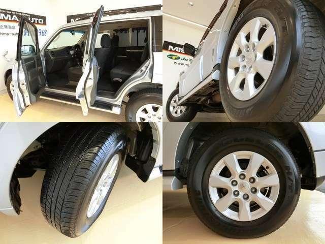 「本格SUV」定員7名しっかり乗れる広い室内、いろいろな用途でお使いいただけるお車です!