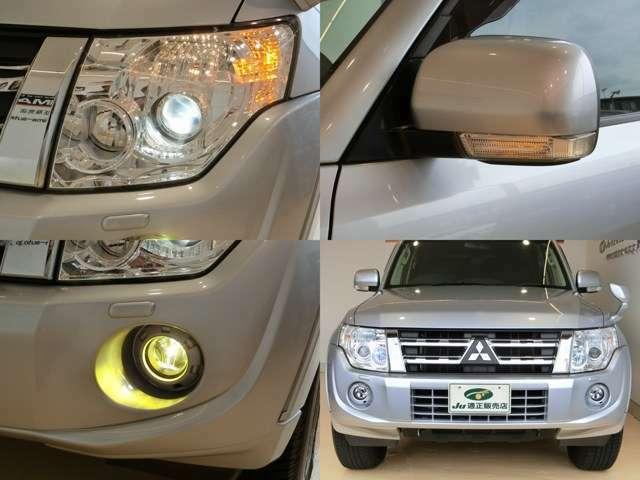 明るいHIDヘッドライト&ハロゲンフォグランプ付☆ オートライト機能で自動点灯が便利です♪