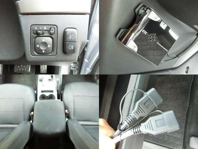 ETC車載器、ナビUSB入力、USB給電