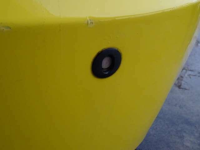 リアバンパーのみコーナーセンサー付いております!