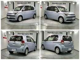 CDコンポ ETC 片側電動スライドドア スマートキー装備のトヨタの青色のスペイド G入庫しました。