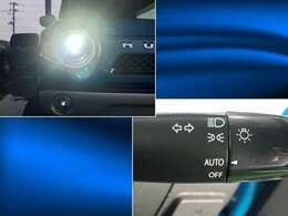 ナイトドライブの強い味方として人気のHIDヘッドライト!暗くなったら自動でライトを点灯してくれるオートライトスイッチもついています!