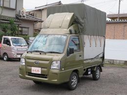 スバル サンバートラック 660 TC 三方開 4WD 運送仕様幌付き ドラレコ ETC キーレス