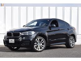 BMW X6 xドライブ 35i Mスポーツ 4WD 禁煙1オナ Dアシスト ACC 黒革 LEDライト