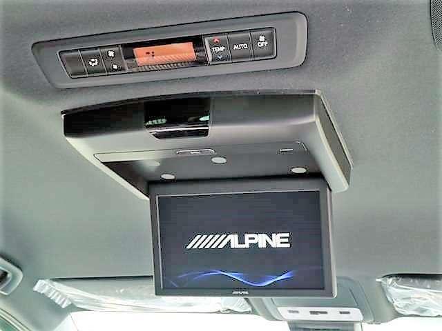 ALPINE10.1型フリップダウンモニター装備!ダブルゾーン対応!12.8型フリップダウンモニターに変更も可能です☆
